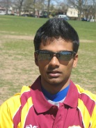 Prashant Nair was consistent bowling left arm orthodox during the Academy's campaign