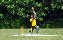 Atlantis' Henderson Blades has been in good T20 knick this seaon. Photo by John Aaron
