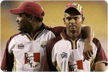 Old Pals Brian Lara and Shivnarine Chanderpaul