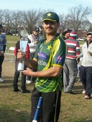 Haider Shah completed an all-round with the bat, 2/13 with the ball and 3 dismissals in the field to earn the man of the match