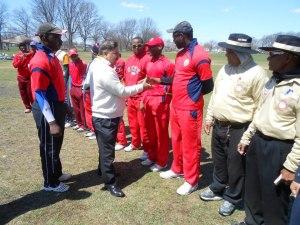 Asia Tribune Special Guest meet Americas Cricket Academy