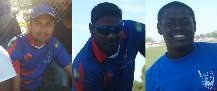 From r-l Terrence Madramootoo 3/9, Hemendrabose Persaud 42 and Danesh Deonarain 50 vs. NY Centurian