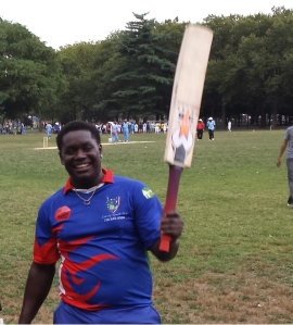 Terrence Madramootoo topscored with 137 for Liberty  SC against Big Apple CC