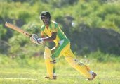 Former West Indies U-19 Batsman, Richard Ramdeen scored 122 (56) in vain as Big Apple with sacked