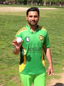 Arsenal's Rehan Shahid spun 7-3-12-7 to wreck NY Centurions