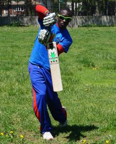 Trinson Carmichael led Liberty on the opening day of EACA 2014 Season with 3 for 13 and a blistering knock of 69