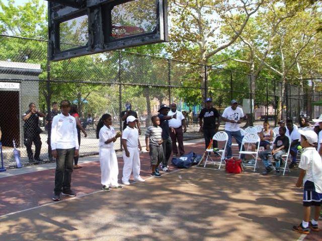 Cricket Let's Play USA at Kingston Park