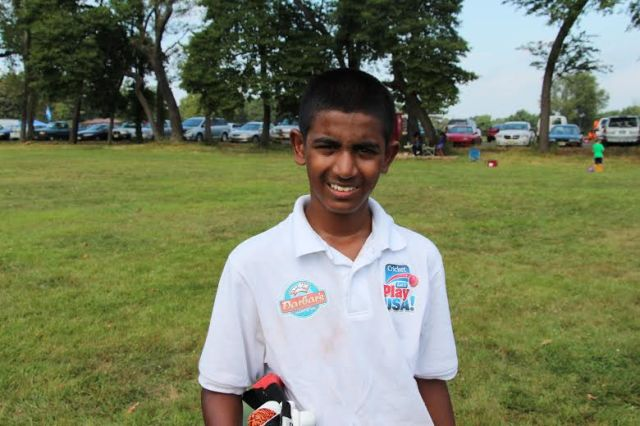 CLPUSA U-13 Middle Order Batter worked diligently in the field even though runs were hard to come by
