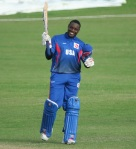 American wicketkeeper batsman Steven Taylor, campaigned with the Barbados Tridents at CPL 2015