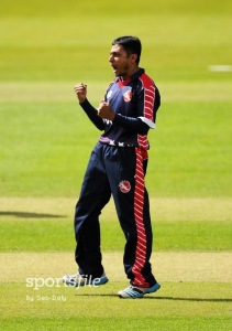 Timil Patel was USA's Leading Wicket taker at the World Cricket League Division Four Tournament 2016